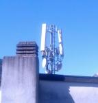 Antenne in den Lauben